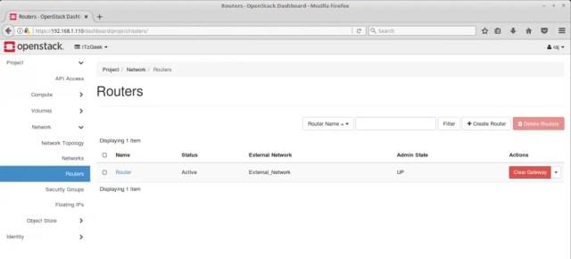 Configure OpenStack Networking - OpenStack Routers