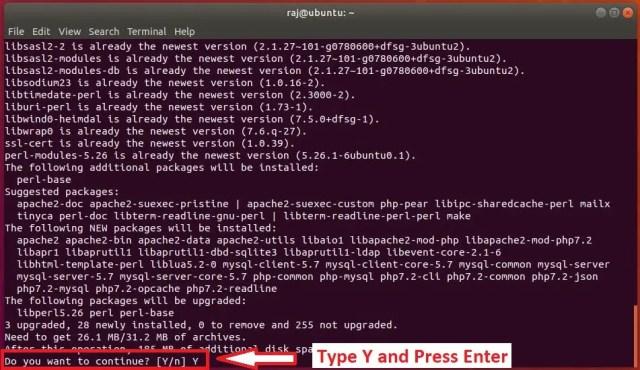 Install LAMP stack on Ubuntu 18.04 - Install LAMP Stack in Single Command on Ubuntu 18.04