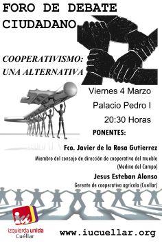 Cartel Foro Cooperativismo