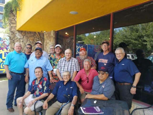 L31 Retirees Breakfast before an Astros game