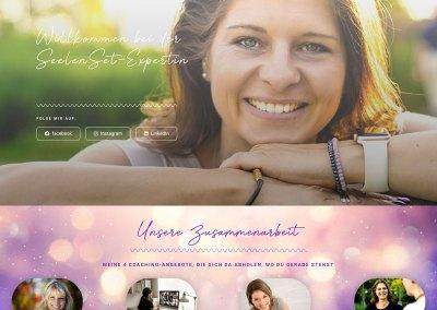 Neuer Internetauftritt für die SeelenSet-Expertin Alexandra Stock