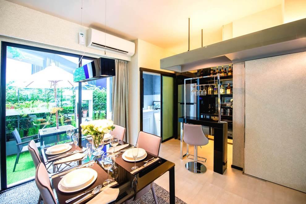 """LIVEVOLUTION ชม 5 ทาวน์โฮม โครงการล้ำสมัยในทำเลดีที่สุด """"บ้านกลางเมือง & PLENO"""" สุขสวัสดิ์-สาทร 26 - AP (Thailand) - เอพี (ไทยแลนด์)"""