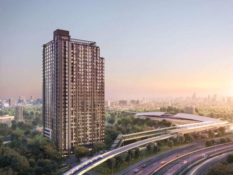 exterior 07 750x563 Aspireสาทร ราชพฤกษ์ คอนโดติด BTS x MRT Interchange สถานีบางหว้า Skywalk ถึงหน้าคอนโด