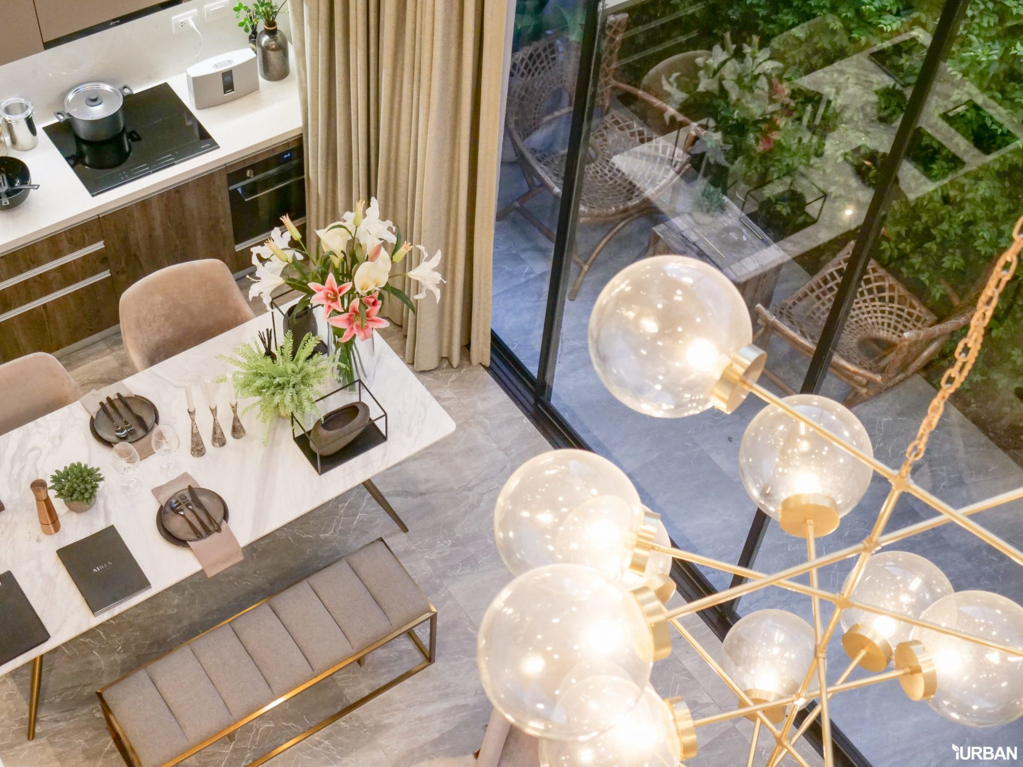 AIRES RAMA9 รีวิว Luxury Townhome 3.5 ชั้น + Rooftop ออกแบบสวย ย่านพระราม9 (ใกล้ รพ.สมิติเวช) 48 - AIRES