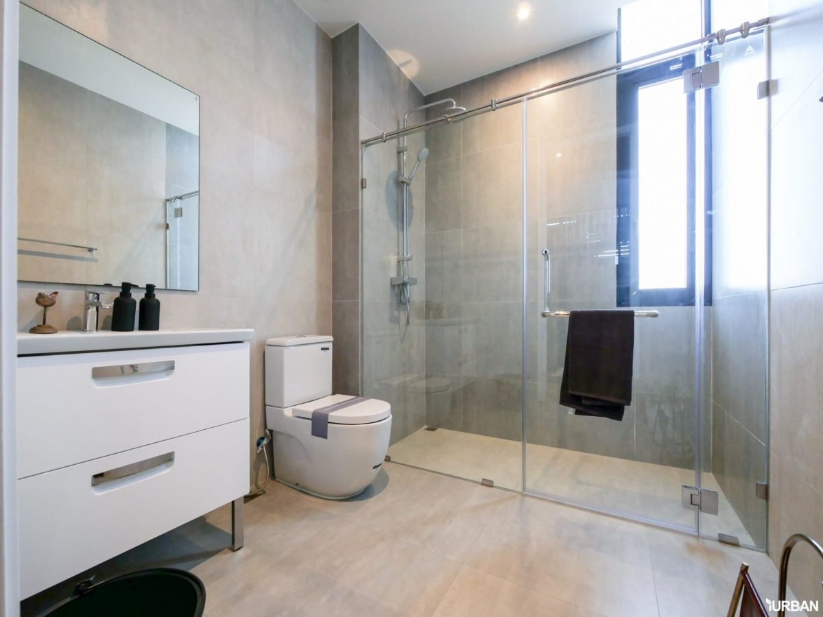 AIRES RAMA9 รีวิว Luxury Townhome 3.5 ชั้น + Rooftop ออกแบบสวย ย่านพระราม9 (ใกล้ รพ.สมิติเวช) 75 - AIRES