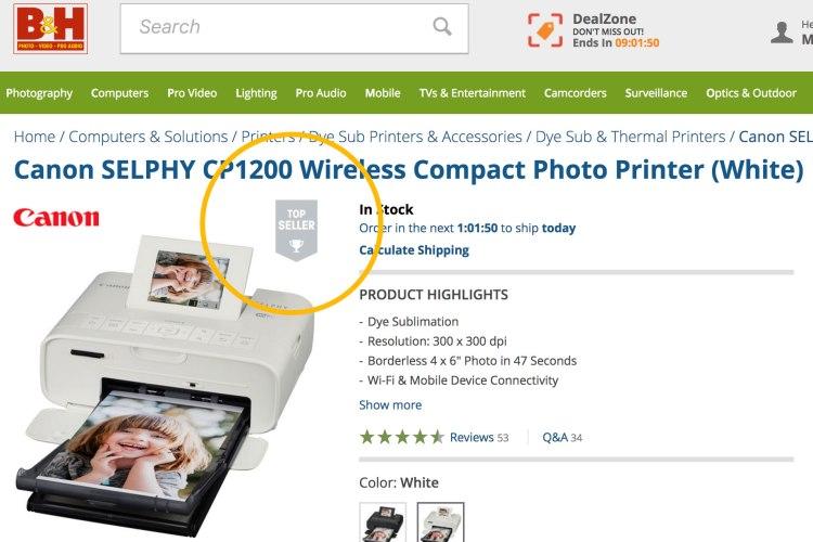 bandh canon selphy cp1200 750x500 รีวิว Canon SELPHY CP1200 ปริ้นเตอร์รูปถ่ายพกพาที่ภาพชัด 100 ปี! ไปกับน้องก้อยแอดมินสาวเพจถ่ายรูป