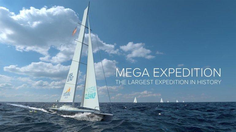 Mega Expedition โครงการใหม่เพื่อวิจัยการเกิดขยะและการไหลของขยะในทะเล เป็นโคตรงการที่จะทำคู่ขนานไปกับการกำจัดขยะ
