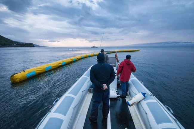 the ocean cleanup plan boyan slat 4 750x500 ทำความสะอาดครั้งใหญ่ที่สุดของโลก ล้างมหาสมุทร โดยฝีมือเด็กอายุ 19 ปีกับ Ocean Cleanup Project