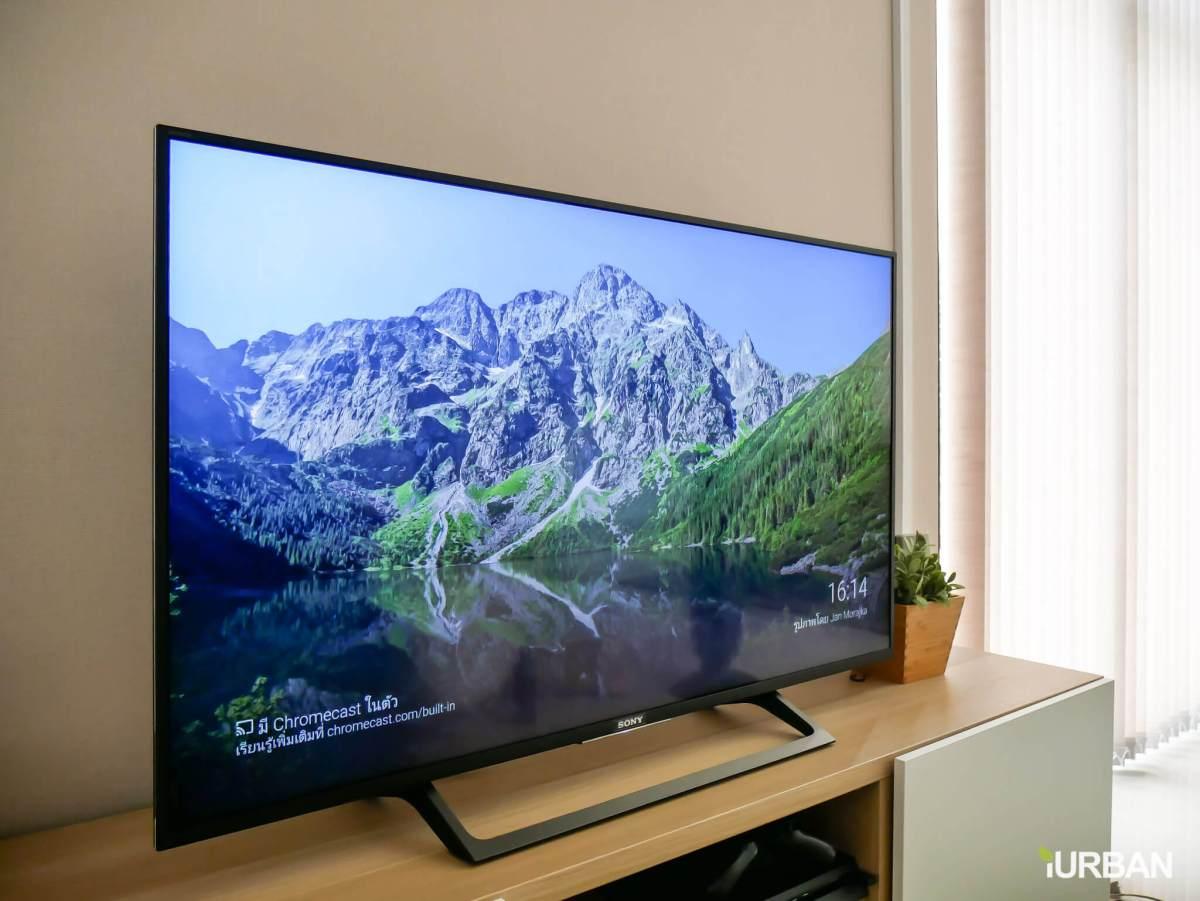 iurban sonytv 02 รีวิว SONY Android TV รุ่น X8000E งบ 26,990 แต่สเปค 4K HDR เชื่อมโลก Social กับทีวีอย่างสมบูรณ์แบบ