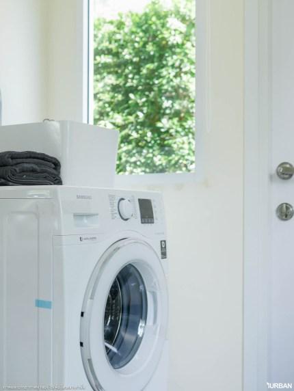 วางเครื่องซักผ้าภายในห้องครัวได้
