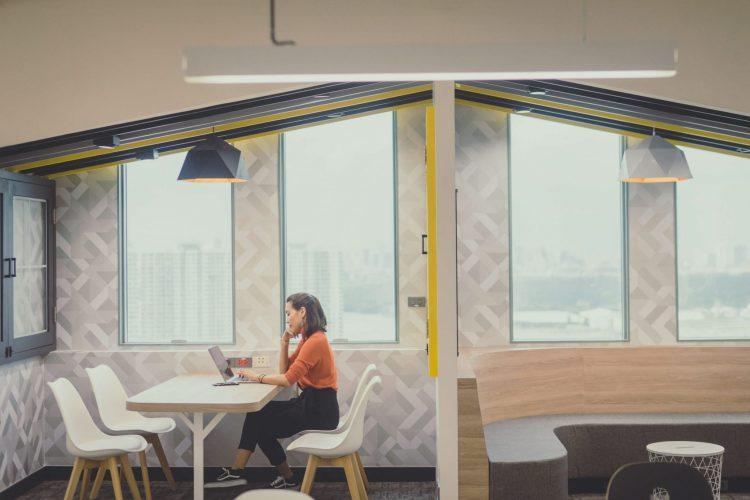 """ออฟฟิศแนวคิดใหม่ สุดฮิปของชาวกรุงศรีฯ ในสไตล์ """"Co-Working Space ที่ให้งาน Finish แบบไม่ติดสตั้นท์"""" 1 - Bank"""