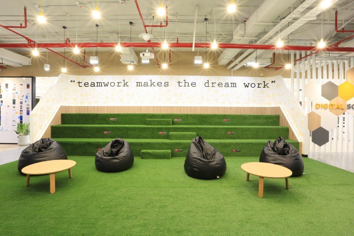 """ออฟฟิศแนวคิดใหม่ สุดฮิปของชาวกรุงศรีฯ ในสไตล์ """"Co-Working Space ที่ให้งาน Finish แบบไม่ติดสตั้นท์"""" 2 - Bank"""