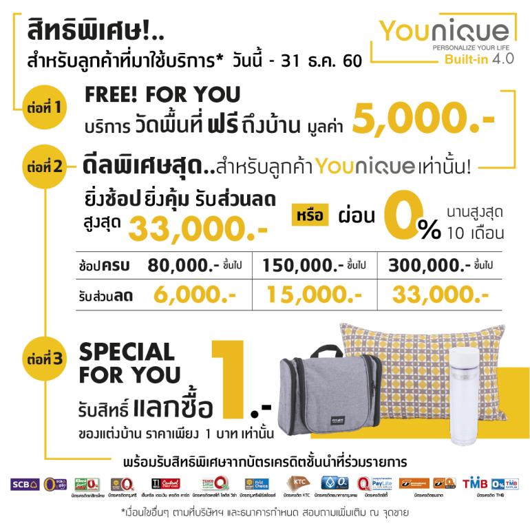 Younique เทคโนโลยีบิวท์อิน 4.0 ครั้งแรกในไทย มีเป็นล้านดีไซน์ รู้ราคาใน 1 นาที โดย Index Livingmall 19 - Built-in