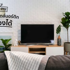 How to เปลี่ยนห้องนั่งเล่นเป็นสไตล์ Nordic ทำเองได้ ง่ายนิดเดียว! 15 - Nordic