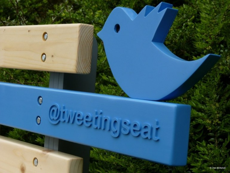 TweetingSeat 13 - seat