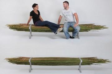 Bamboo bench 18 - ตกแต่งบ้าน