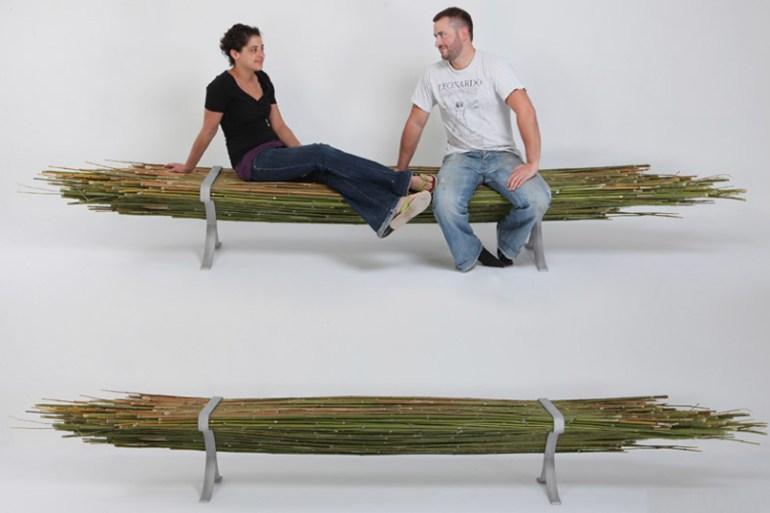 Bamboo bench 23 - ตกแต่งบ้าน