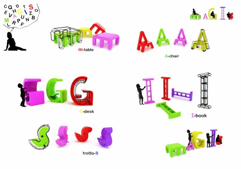 %name The alphabet chair