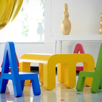 The alphabet chair 20 - chair