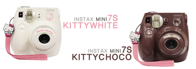 %name Review Instax mini 7S kitty white and choco 1