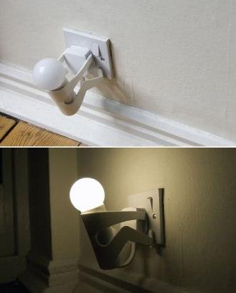%name Light bulb holder