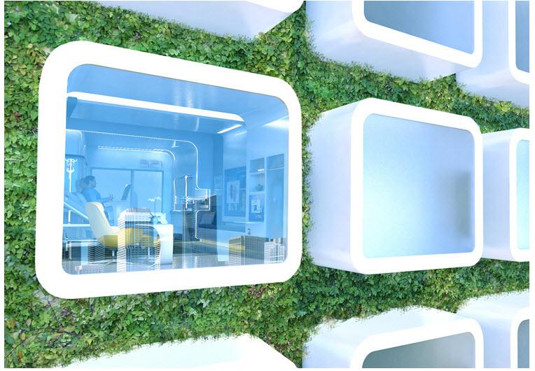 หน้าตาโรงพยาบาลในปี 2020 13 - modern urban living