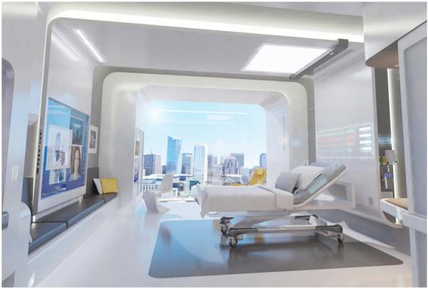 หน้าตาโรงพยาบาลในปี 2020 15 - modern urban living