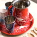 Eva Hand Painted Tiffin 19 - Containers