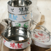 Eva Hand Painted Tiffin 15 - Containers