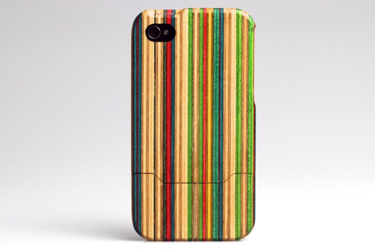 Skateboard iPhone 4 case 18 - GREENERY