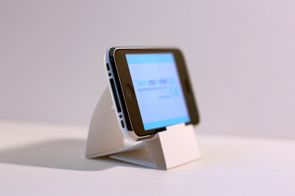 D.I.Y. Iphone,Ipod Stand 13 - dock and stand