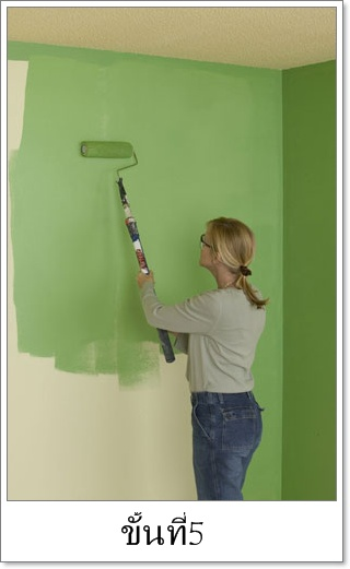 DIY How to paint your wall 13 - paint