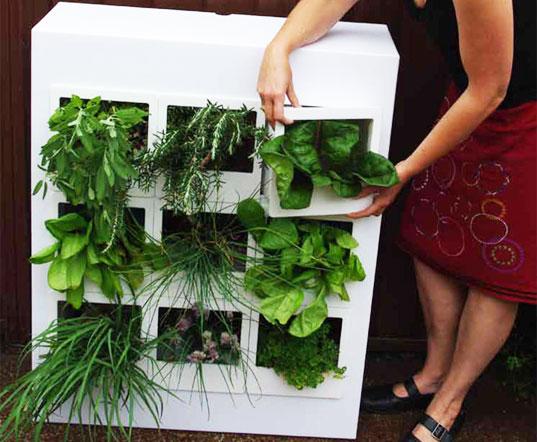 urbgarden ed01 สวนผักแนวตั้งในคอนโด