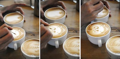 ศิลปะบนกาแฟ@Cafe Rosso 14 - Cafe Rosso