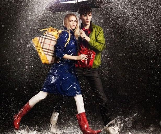 Colourful Rian : Burberry  23 - Rain