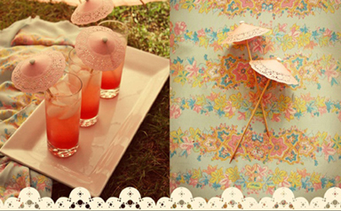 DIY : Drink Parasols 13 -