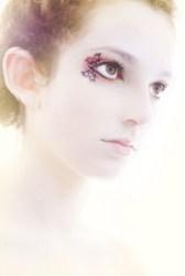 %name Art on eyelashes