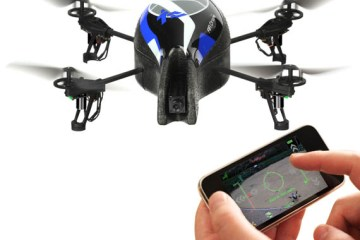 Fly a Helicopter from your Iphone! 6 - Drone