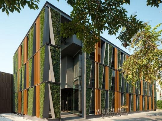 Sales Office แนวคิดสีเขียวของแสนสิริ บนถนนสุขุมวิท 13 - Gallery