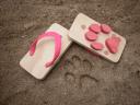 %name cat print sandals