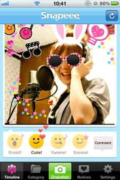 Snapeee app น่ารักๆบนไอโฟน 14 - Social networking