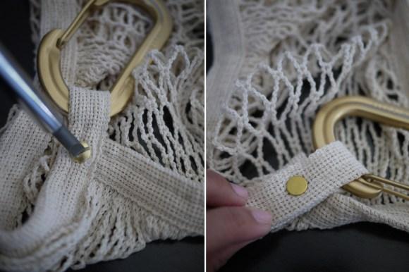 DIY. กระเป๋าตาข่ายสุด sexy 17 - DIY