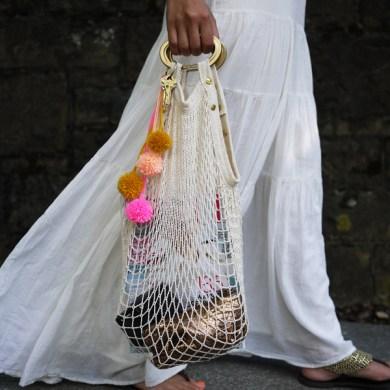 DIY. กระเป๋าตาข่ายสุด sexy 28 - DIY
