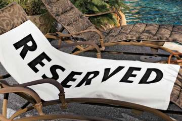 Reserved Beach Towel 12 - Beach