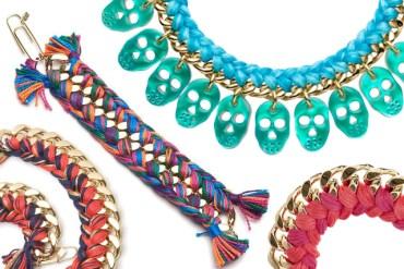 DIY Woven Chain Bracelet 30 - DIY