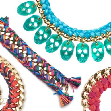 DIY Woven Chain Bracelet 21 - DIY