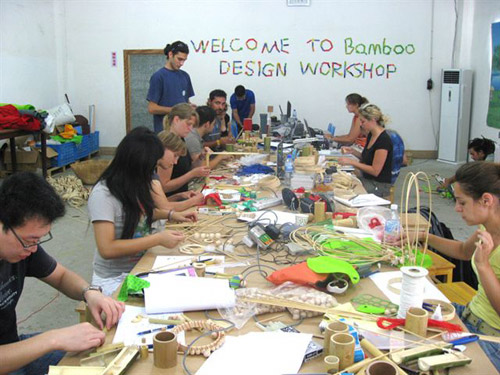 12 Bamboo toy workshop in China
