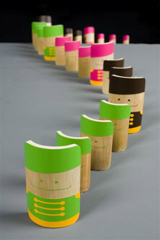 13 Bamboo toy workshop in China