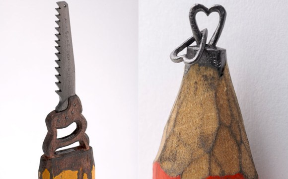 sculptures จากดินสอ 17 - Dalton Ghetti