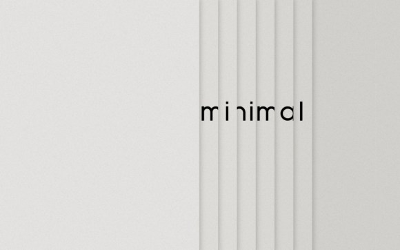 Minimal Wallpaper by x spirit 580x362 Mini animal Clock